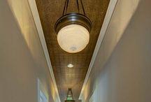 Ceiling walpaper ideas