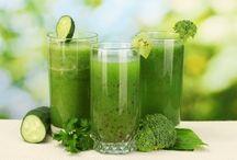 zöld turmixok, italok