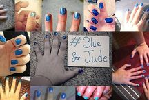 #BlueForJude / Show your support for The Fosters by pinning photos of yourself with blue nails and using #BlueForJude!