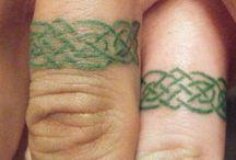 Wedding band tattoos