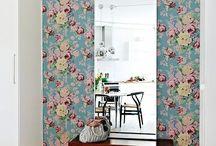 decora parede com tecido