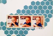 Hebrew scrapbooking