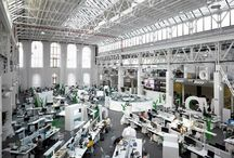 Office Design Trends / Innovative office designs to energize, motivate and inspire.