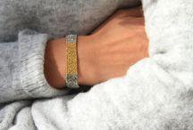 Delphine Lamarque - AH 14/18 / Envie d'un nouveau bracelet rock et tendance ? Craquez pour la collection signée Delphine Lamarque et ses bracelets en laiton