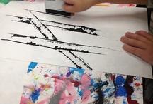 Malerier / Ideer til akrylmaling