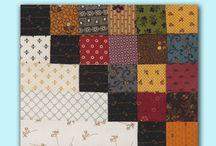 Quilt - Blokker og quiltemønster