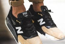 New balance for him
