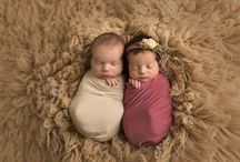 photography ideas - newborn twins