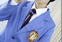 Ouran high school host club cosplay