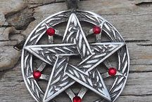 Pentacle Necklaces / The Pentacle gives you strength and protects you from evil spirits. Get your own unique pentacle necklace from The Moonlight Shop today!