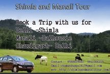 Shimla Manali Dalhousie Chandigarh Delhi Tour by Car, visit