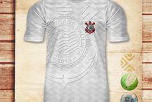 Futebol t-shirts / Lendárias camisas de futebol