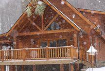 Our Dream Log Home!!