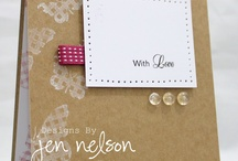 Cards ~ Kraft / by Wendy Dodds