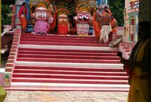 Shri Jagannath Rath Yatra at Garoi, June 2014 / Rath Yatra or car festival is an inseparable limb of the Jagannath culture. Since 2005, as per instructions of Shri Achyuta, car festival is celebrated at Garoi each year. These photographs are from June, 2014