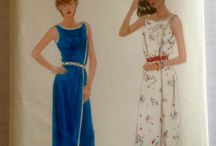 Vintage dressmaking pattern collection / These patterns are special to me - in the past I have made many of them up - this collection even includes some that I made under the expert tutorage of my school domestic science teacher, the never to be forgotten, Miss Austin.