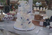 Wedding cakes & dessert tables By Doux Mélange