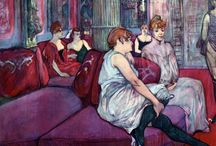 toulouse lautrec paintings / Murals for shop