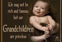 ツ GRANDKIDS ツ / A grandchild fills a space in your heart that you never knew was empty. / by G-MA