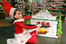 Elf on OUR Shelf! / Pictures of the Christmas Place Elf on the Shelf - and your elf, too, if you want to pin it here!