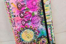 ART journaling / art creations