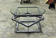 стекло столы