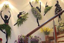 tancerki z kwiatów