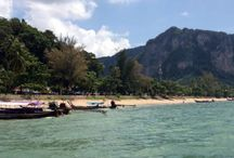 Ao Nang Krabi Thailand / Travel destinations around the Krabi province