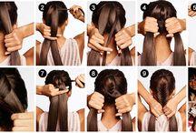 cabelos infantis / penteados infantis para ir a escola ou sair, para meninas estilosas e que gostam de estar penteadas