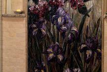 mosaico y vitral