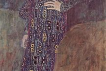 Klimt / Collection of ideas an inspiration about this artist and style.