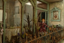 Inspirational Doll Houses / Inspirational ideas to get me going on a Doll House :0)