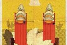 Architecture Illustrations   Ilustraciones de Arquitectura