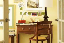 Home Office Ideas / by Stefani Blackwell