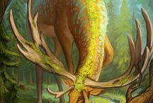 Fantasy world / Fantasía, mitología, animales fantásticos, lugares...