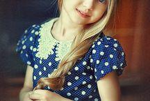 Crianças - meninas / Fotografias crianças