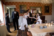 Wedding Photo Shoot / Photos taken as part of a promotional media day at the Loring-Greenough House.