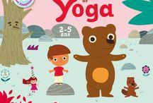 Yoga pour les enfants : postures et conseils / Le yoga a de nombreux bienfaits sur les enfants : concentration, calme,apprentissage... Voici quelques postures et conseils simples et faciles à mettre en pratique en famille à la maison
