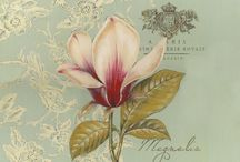 Decoupagem Floral / Figuras para decoupagem