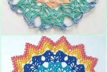 crochet doiley free
