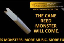 Kick the Monster / The cane reed monster will come. Kick the Monster. Play the Hero. Play Fiberreed. The Perfect Gift. Students. Educators. Music Shops. Enter our Contest!
