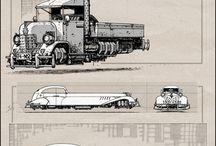 Retro/future vehicles