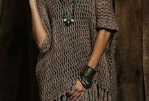 roupa em crochet