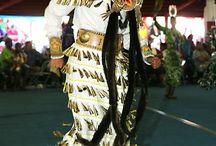 Native American female dress