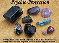 Crystal protection