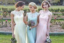 Bridesmaids Dress Ideas / Bridesmaids dresses