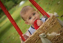 Bebês e Acompanhamentos / Aqui estão alguns acompanhamentos de bebês.