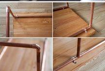 DIY copper pipe
