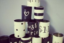 Kreative Ideen mit Blechdosen / Blechdosen für Dekor und Aufbewahrung