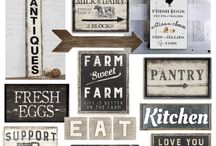 shabby boards & signs